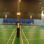 Panoramic Picture Of 12 State Of The Art Mondo Flooring Courts Taken From The North Wall