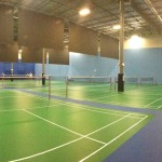 Panoramic Picture Of The Courts With Our Excellent Anti Glare Lighting System From The North East Corner
