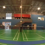 Panoramic Picture Of The Courts Facing The Mezz Cafe & Lounge
