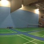 Panoramic Picture Of Our Glare Resistant Lighting For Optimum Play