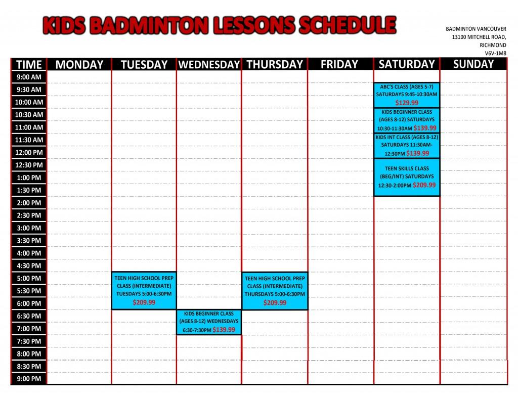 Badminton Lessons Badminton Vancouver