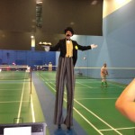 We Would Love To See Him Play Badminton!
