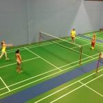 Retro Badminton In Neon Colors! So Much Fun!
