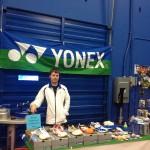 Badminton Vancouver Badmintology Yonex Booth
