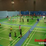 Photo From The Upper Level Of Fun Badminton!